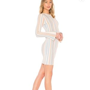Ronny Kobo striped dress small